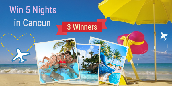 Here's your chance to Enjoy 5 Nights in Cancun! Enter Starter Yoga's Customer Appreciation Giveaway and treat yourself to a true taste of Cancun and its majestic wonders! (ARV: $1,200) PLUS 5 additional winners will be selected to receive a Customer Appreciation Certificates.Happy Winning!