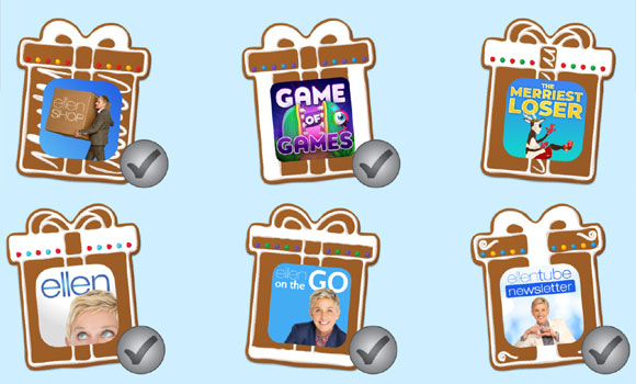 Ellen's 12 Days Grand Prize Sweepstakes