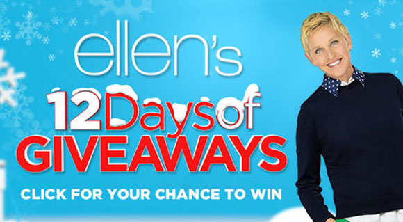 Ellen's 12 Days of Giveaways Contest