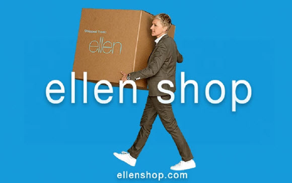 ellenShop.com 12 Days $25K Sweepstakes