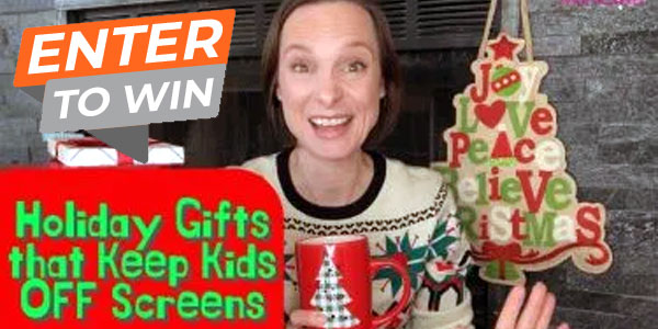 Enter for your chance to win a bundle of gifts to keep your kids off the screens including aChillafish Bunzi 2-in-1 Balance Bike, Party'N With Plants Fairy or Pirate Garden, and MEL Science Kids Chemistry set.