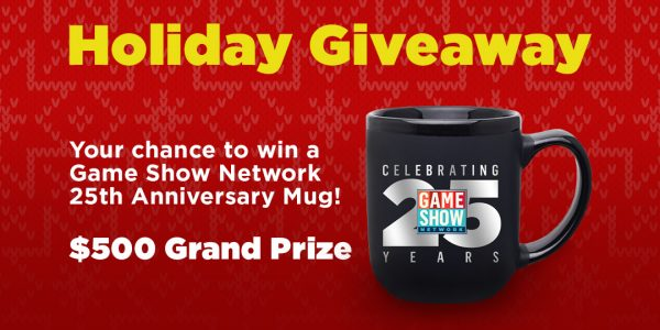 Game Show Network Holiday Giveaway Daily Winners