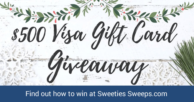 Enter for your chance to win $500 Visa pre-paid gift card. It's the most wonderful time of the year! VSP is kicking off this season of cheerful giving with a $500 gift card for one lucky reader like you, who is part of the VSP family.