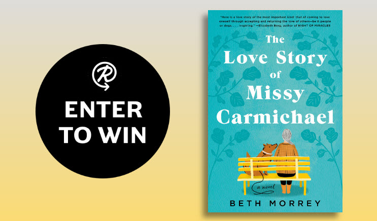 50 WINNERS! Enter for your chance to win a copy of the book, The Love Story of Missy Carmichael by Beth Morrey.