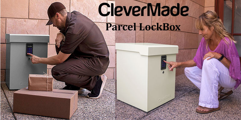 6 WINNERS! Enter for your chance to win a CleverMade Parcel Lockbox and $300 gift card from Bob Vila.