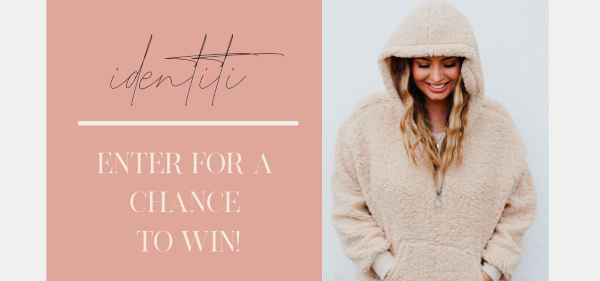 Identiti Boutique is launching soon and right now they are giving you the chance to win their cozy Pocketed Half Zip Sherpa Hoodie. Sherpas have become a fashion staple this winter.
