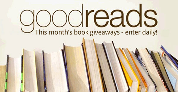 This Month's Goodreads Book Giveaways