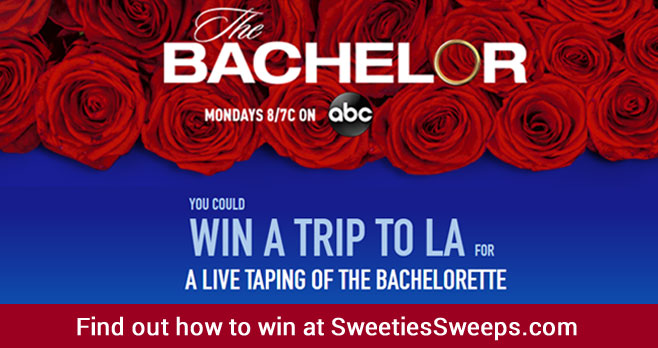 Enter for your chance to win a trip to Los Angeles, CA for a live taping of #TheBachelorette valued at $15,000! Or you could be one of 100 winners who will win Free ORBIT Gum For A Year