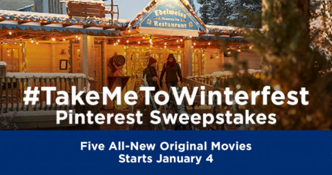 Enter for your chance to win a$500 Visa Gift Card from the Hallmark Channel!