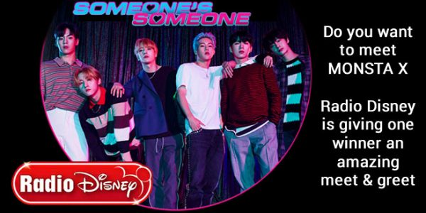 """Radio Disney wants you to meet #MonstaX because you and three guests will win a trip to Los Angeles CA to see them perform at the Forum. And to make your Valentine's even sweeter, you will also get to meet them. Love is """"on air"""" during this season of love and Radio Disney wants you to celebrate the sweetest holiday of the year with someone you can't live without!"""