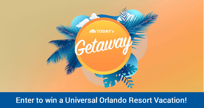 Do you want to get away for the winter? Join the TODAY Show on a Universal Orlando vacation. #ThursdayMotivation Share why you deserve to join TODAY at Universal Orlando Resort for your chance to win!