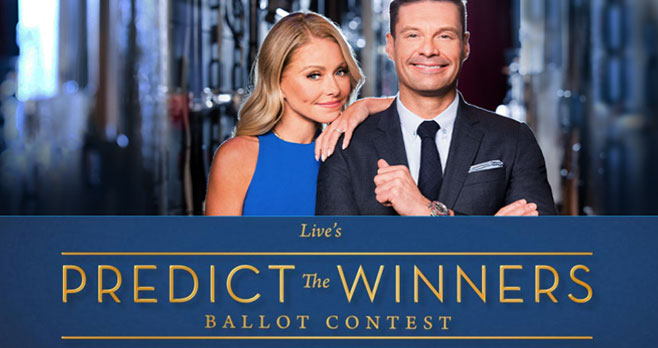 Predict this year's Oscar winners and you could be going on a fabulous trip to stay in a Hammock Cove Antigua Luxury Resort PLUS one winner each week will win a Drinkworks Home Bar by Keurig.