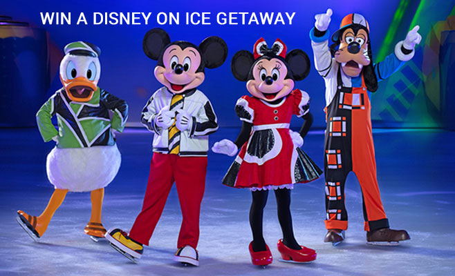 Enter the Disney On Ice and Hawaiian Airlines Getaway Sweepstakes for your chance to win 240,000 HawaiianMiles