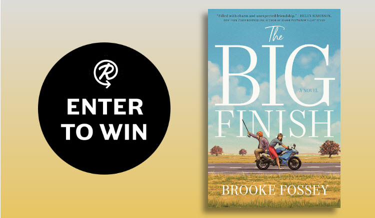 Enter for your chance to win one of 100 copies of the book, The Big Finish by Brooke Fossey.