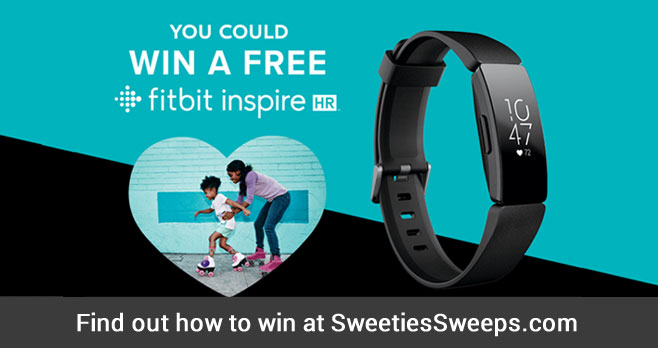 Over 9,600 WINNERS! Cheerios is on a mission to inspire heart healthy choices, so they've teamed up with Fitbit to give you a chance to win a Fitbit Inspire HR