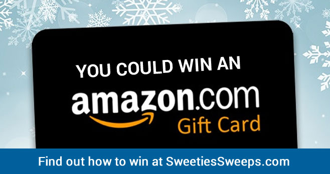 Enter for your chance to win an Amazon gift card