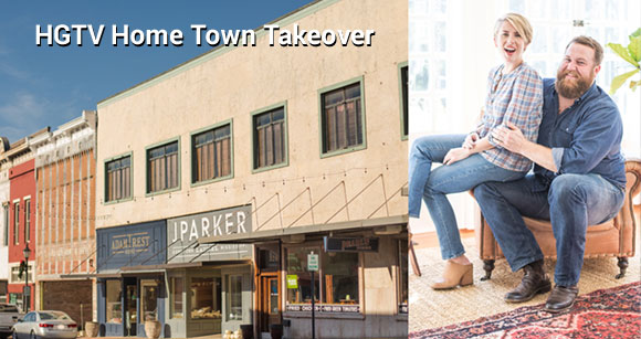 HGTV is taking on an ambitious mission - to make over an entire town #HGTVHomeTown and here's how to nominate your own home town.