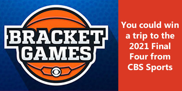 Fill out your #MarchMadness bracket and compete for a trip to the 2021 Final Four. Start a pool now to compete against your friends, family and co-workers.