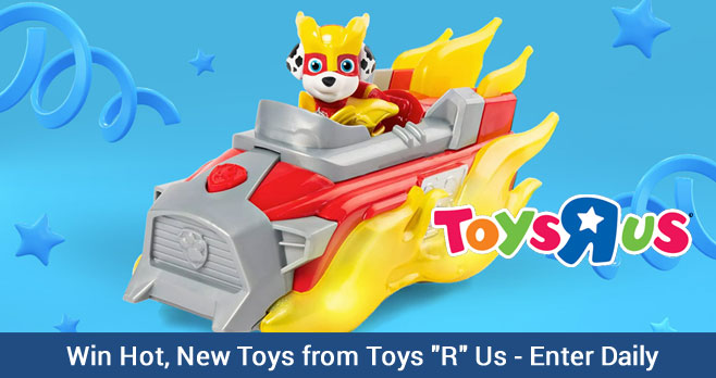 Toys R Us stores might be closed but they are very much alive and well online and right now they are giving you the chance to win how new toys each week. Enter daily. Winners weekly.
