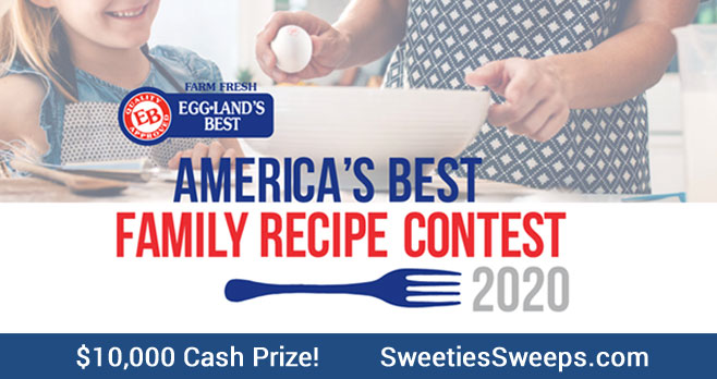 Calling All Egg-cellent Family Recipes! Submit your recipe by May 3, 2020 for a chance to win the $10,000 Grand Prize!