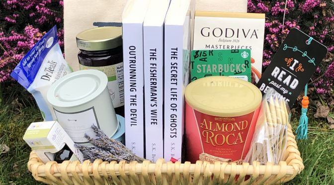 Enter for your chance to win Romantic Suspense Readers gift basket