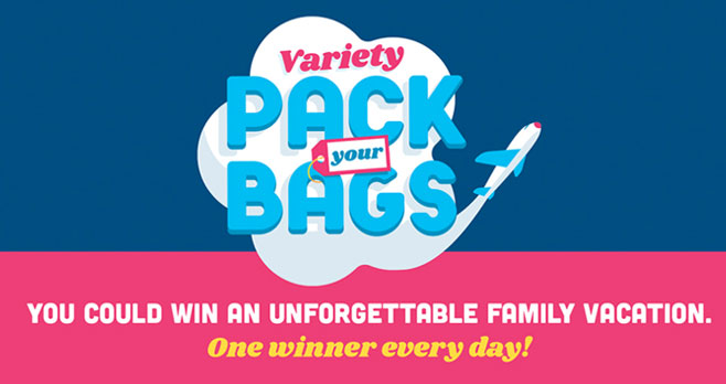 Frito-Lay Variety Pack Your Bags Sweepstakes