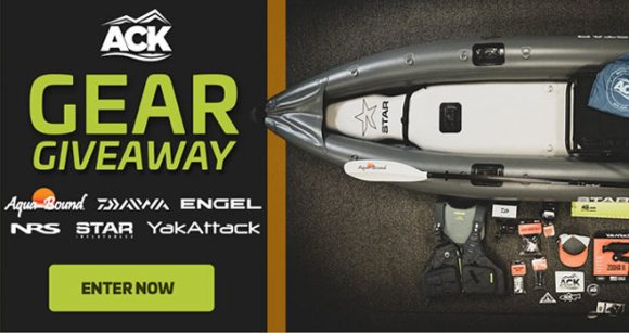 Enter to win a Fishing Kayak from Austin Kayaks