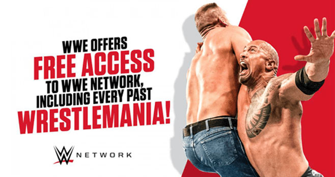 FREE Access to WWE Network