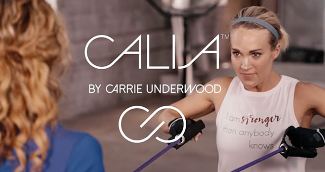 Enter for your chance to win a$100 to CALIE by Carrie Underwood. Country music iconCarrie Underwoodhas teamed up with DICK'S Sporting Goods to create activewear designed for your busy life.