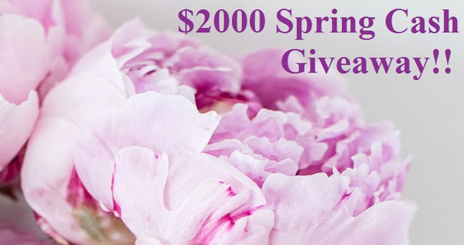 Enter for your chance to win $500 from Maple Mouse Mama. Four lucky winners will each win$500 in Cash via PayPal or in an Amazon Gift Card! It's up to you which prize you choose.