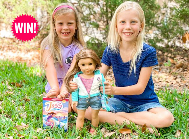 Enter for your chance to win the 2020 American Girl Doll of the Year, Joss Kendrick. Pursuing surfing and going all-in with cheer, Joss reaches new heights and discovers a whole new side of herself.
