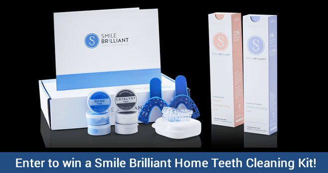 Smile Brilliant Home Teeth Whitening Kit Giveaway