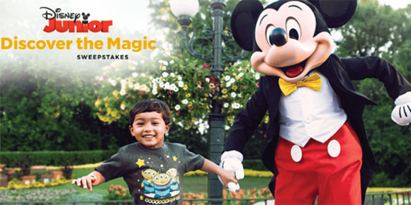 """Enter for your chance to win a magical Walt #Disney World Vacation from #DisneyJunior For the entire month of March, you can enter Disney Junior's """"Discover the Magic"""" Sweepstakes to win a FREE trip to the most magical place on earth for the whole family!"""