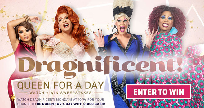 Watch TLC's Dragnificent every Monday to get the weekly code so you can enter for your chance to win $1,00 in cash!