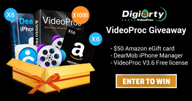 VideoProc Giveaway & Win Sweepstakes (1,012 Prizes)