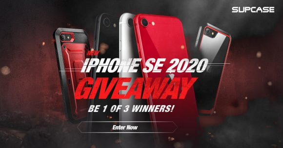 Enter to Win 1 of 3 iPhone SE (2020 model) + $100 In SUPCASE Accessories. Each prize is valued at $500