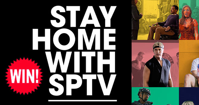 Enter the Stay Home With #SPTV Sweepstakes for your chance to win the Ultimate #Sony TV Binge Bundle, including a 4K Sony TV, Sound bar and gift cards to Hulu, Netflix and Sun Basket. Plus, win weekly prizes for streaming services to watch your favorite TV shows.
