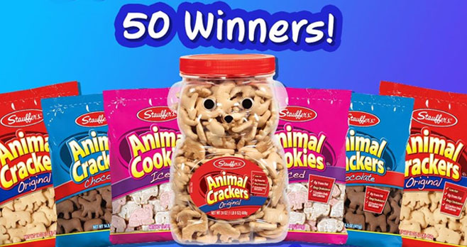 Share your favorite way to have fun at home and you could win some Stauffer's Cookies and Snacks.