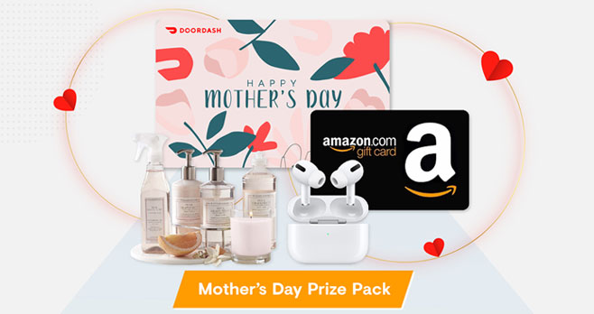 Enter for your chance to win a $500 prize from Arm & Hammer for Mother's Day.