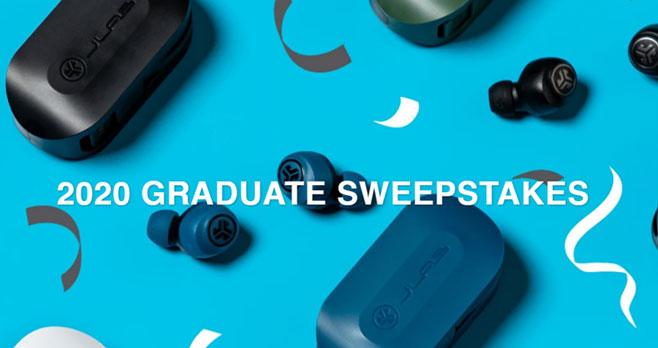 Enter for your chance to win a pair of JLab GO Air True Wireless Earbuds.