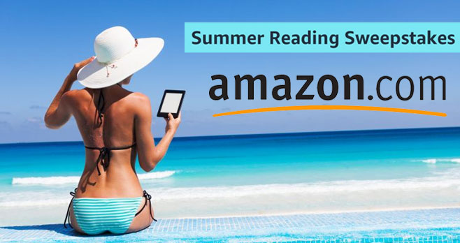 Read more this Summer. Win Big. Enter for a chance to win great prizes from #Amazon all summer long. You could win a #Kindle Oasis with the top 20 summer blockbuster Kindle books and other exciting prizes!