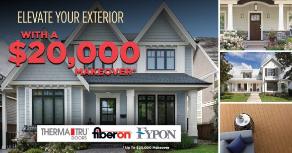Today's Homeowner's $20,000 Elevate Your Exterior Contest