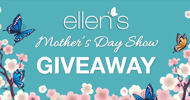 Ellen's Mother's Day Giveaways. Ellen is putting out the call for all First-Time Moms-to-Be to enter for a chance to be on Ellen's Mother's Day Show!