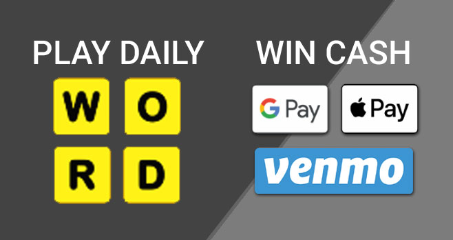 You could Win Cash prizes when you play VRV's WORD game daily through June 28th. This is an ongoing game that starts over every Sunday.