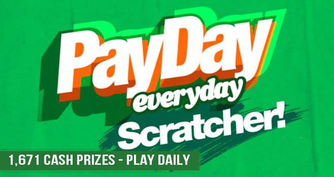 Play the Newport Payday Scratcher Instant Win Game daily for your chance to win CASH prizes!