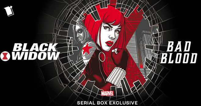 Enter Marvel's Black Widow: Bad Blood Sweepstakes for your chance to win. One lucky winner will receive the Marvel 80th Anniversary Crate + Premium Jacket and all-access to Serial Box.