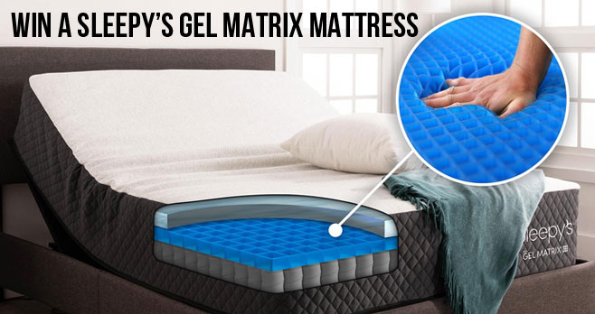 From June 8-16, nominate your dad or grad to win a Sleepy's Gel Matrix hybrid mattress. One lucky dad and one lucky grad will win! Winners will be announced on June 17th.