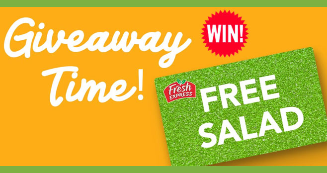 It's time for another #GIVEAWAY! Enter for a chance to win FREE Fresh Express coupons. Follow @FreshUpdates and tag a friend in their giveaway post or enter on the website, Facebook or Instagram.