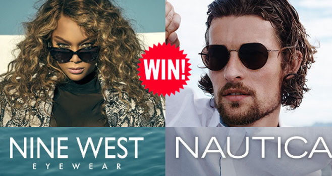 Enter for a chance to win a VSP Sunglasses Day prize package from Nautica or Nine West! There will be 4 winners.