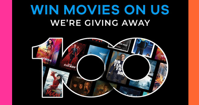Enter for your chance to win a pair of Free movie tickets